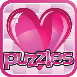 play Valentines Puzzles - Love, Laughter, Roses, Chocalate, All A Women Can Dream Of