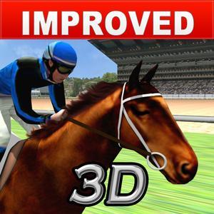 play Virtual Horse Racing 3D