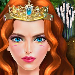 play Warrior Princess: Fashion Doll Adventure Game