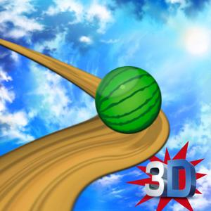 play Watermelon Balance 3D Ball