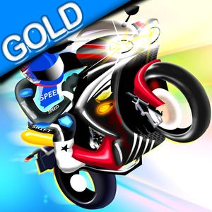 play Wheelies Racing Bike - The Crazy Motorcycle Race - Gold Edition