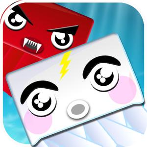 play White Jelly Hero : Help Cutest Jelly Escape From Red Enemy Splashing