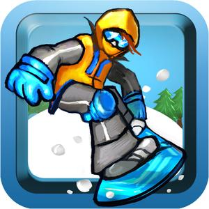 play Xtreme Downhill Ski And Snowboard Chase