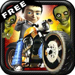 play Zombie Vs Biker - Free ( 3D Racing And Shooting Game For Kids )