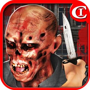 play Zombie War-Knife Master3D Hd