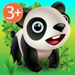 play Zoo Explorer - Hugdug Animals Activity Game For Little Kids.
