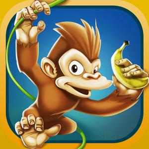 play Banana Island - Monkey Run Game