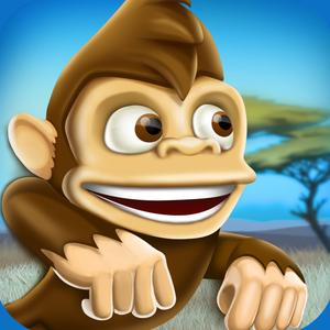 play Banana Island Monkey Fun Run: Wild Jungle Ride Adventure Game For Kids