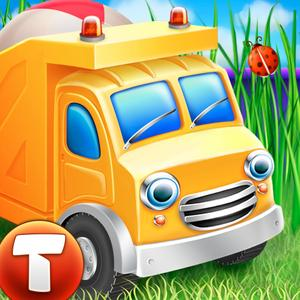 play Cars In Sandbox: Construction (Thematica - Educational And Fun Apps For Kids And Little Toddlers About Vehicles And Tech