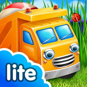 play Cars In Sandbox: Lite (Thematica - Educational And Fun Apps For Kids And Little Toddlers About Vehicles And Technic Mach