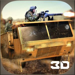play Desert Military War Truck Simulator 3D