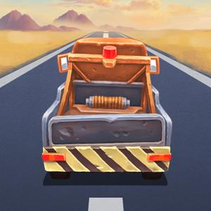 play Desert Truck-The Endless Road