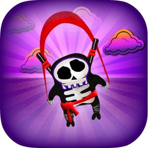 Ghost Ninja Hd - The Fun Flying Fighter Spooky Asian Action Adventure Dive