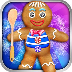 play Gingerbread Cookie Maker Salon - Make Fun Dessert Food & Candy Making For Kids!