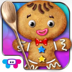play Gingerbread Crazy Chef - Cookie Maker