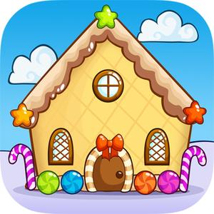play Gingerbread House Maker Crown