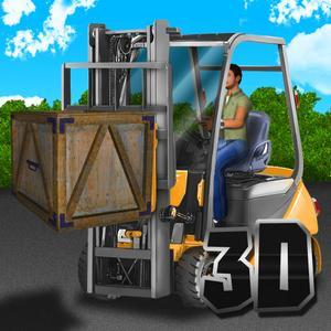 play Heavy Forklift Simulator 3D