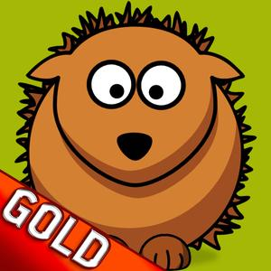 play Hedgehog Bouncing Party In The Gold Wild Forest - Gold Edition