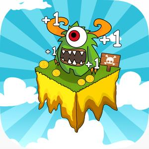 play Hero Clicker - Click Titans And Dash For Gold