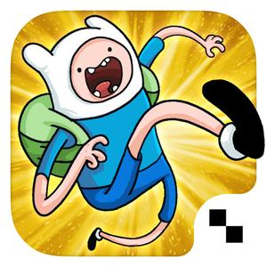 play Jumping Finn Turbo - Adventure Time Launcher Game