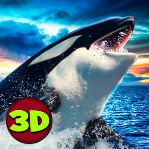 play Killer Whale: Orca Simulator 3D