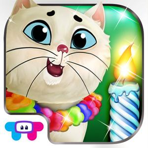 play Kitty Cat Birthday Surprise: Care, Dress Up & Play!