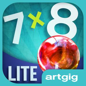 play Marble Math Lite: Multiplication