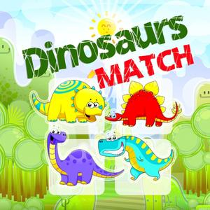 play Match Game For Dinosaurs Jurassic Version