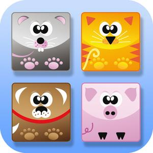 play Match The Animals : Free Preschool Educational Shapes Learning For Kids And Toddlers