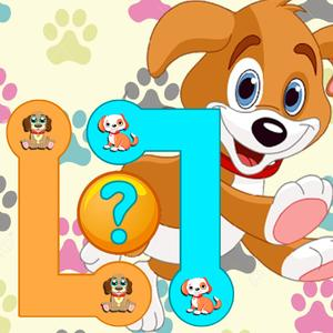 play Match The Cute Puppies - Awesome Fun Puzzle Pair Up For Little Kids