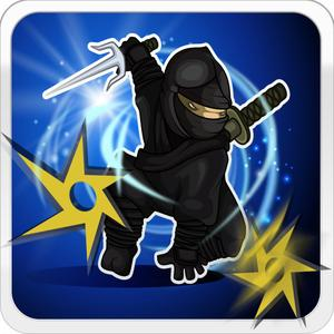 play Ninja Throwing Star Game - Child Safe App With No Adverts