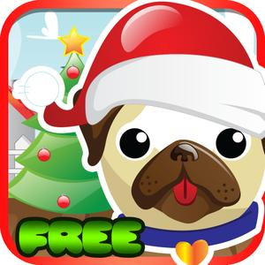 play Pet Pug Xmas Eve Run : Free