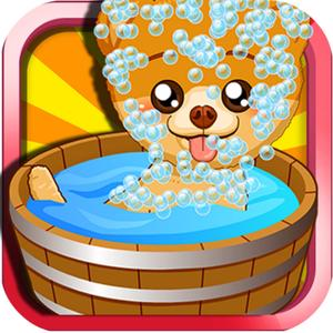 play Pet Stars Charming Boo Care-Pet Wash&Pet Dress Up Salon