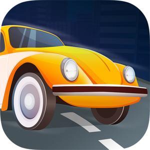 play Retro Car Racing 3D