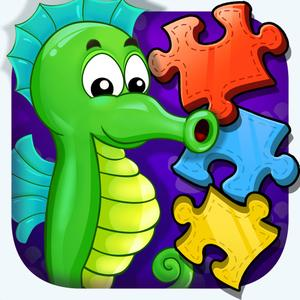 play Sea Animals - Jigsaw Puzzle Learning For Infant Kids & Toddlers
