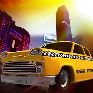 play Taxi Cabs Mania : New-York Crazy Speed Night - Free Edition