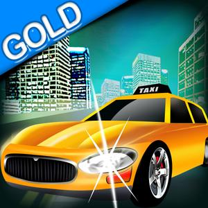 play Taxi In New-York Traffic - The Cool Cab Game Gold Edition !