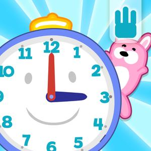 play Tell The Time - Learn The Time With Bubbimals