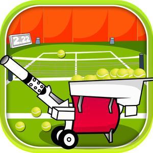 play Tennis Ball Bot - Sports Machine Fast Thrower- Free
