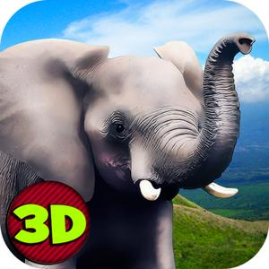 play Wild African Elephant Survival Simulator 3D
