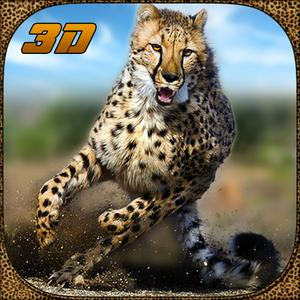 play Wildlife Cheetah Attack Simulator 3D – Chase The Wild Animals, Hunt Them In This Safari Adventure