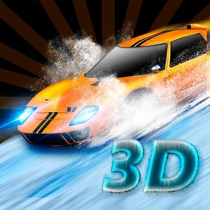 play Winter Drift Car Racing 3D