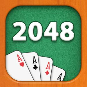 play 2048 Ace Cards Puzzle