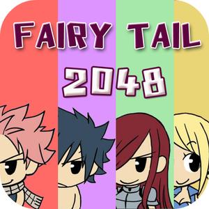 play 2048 Fairy Tail : Slide The Tiles Numbers Puzzle Match Free Editions For Best Fan Anime