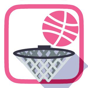play Basketball Flick - Dunk Slam Showdown