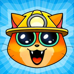 play Dig It! - Cat Mine. Drill, Mine And Level Up Your Own Cute Catminers.