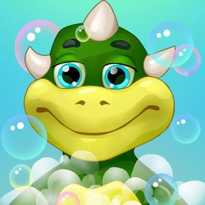 play Dino Bath And Dress Up