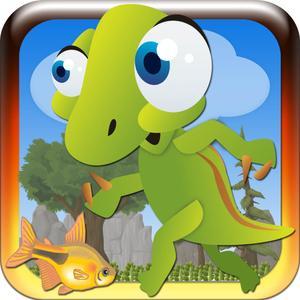 play Dino Crazy Run - Superb Adventure Game On Jurassic Land