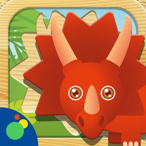 play Dino Puzzle Hd