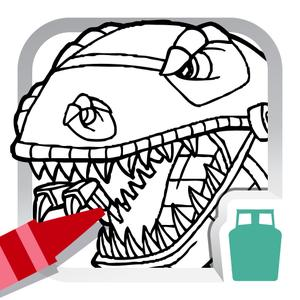 play Dino Robot Coloring Book For Kids - Free Fun Painting